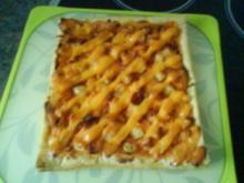 Locker leichte Pizza Hawaii - Rezept