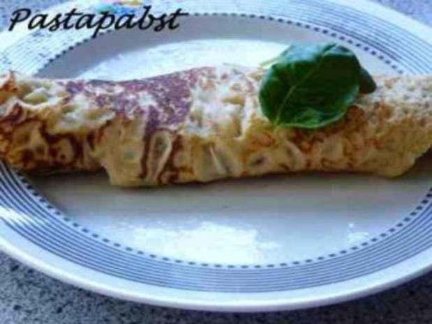 Bolognese Crêpes - Rezept