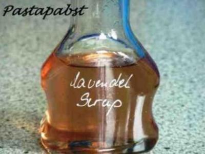 Lavendelsirup - Rezept
