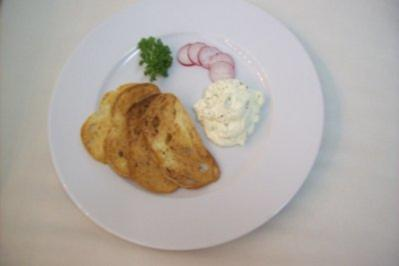 Frischkäse-Ciabattachips Oregano - Rezept