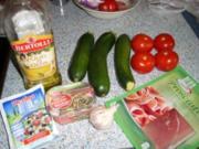 Zucchini Gratin mit Parmaschinken - Rezept