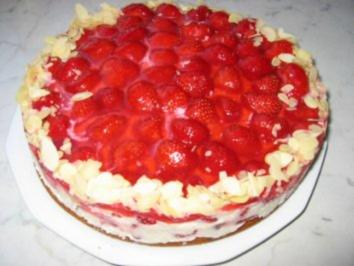 Erdbeer-Sahne-Torte - Rezept