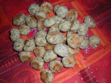 Plätzchen/Kekse: Haferflockenkekse - Rezept