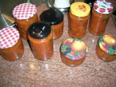 Tomatensugo - einfach den Sommer einfangen, Sugo kann man zu vielem verwenden - Rezept