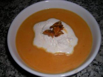 Möhren Ingwer Suppe! - Rezept