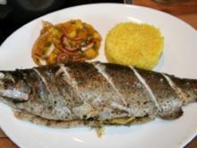 Fisch: Kräuterforelle im Päckchen - Rezept