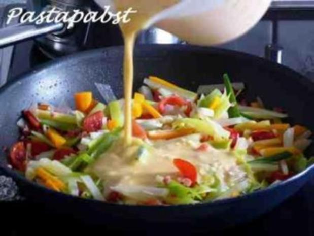 Gemüse Tortilla - Rezept - Bild Nr. 4
