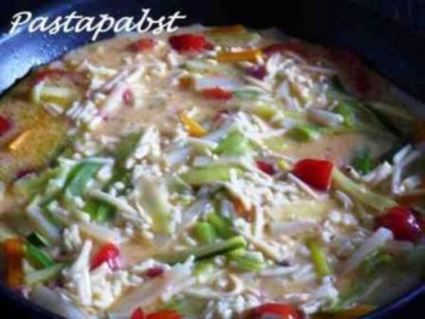 Gemüse Tortilla - Rezept - Bild Nr. 5