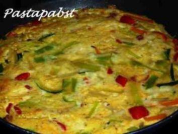 Gemüse Tortilla - Rezept