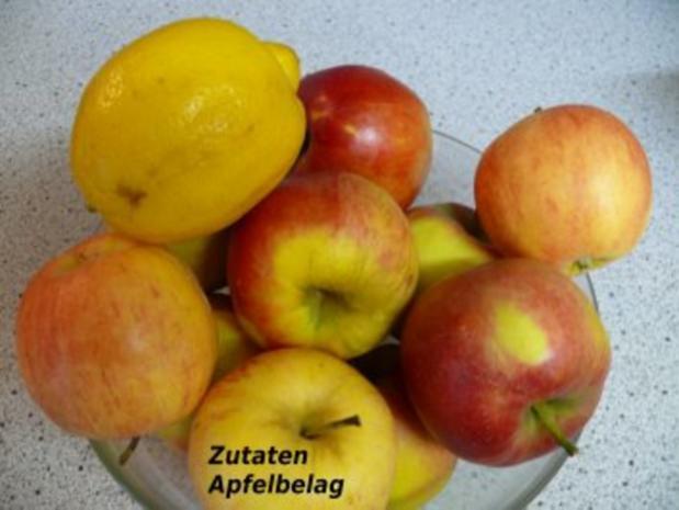 Apfel-Quark-Kuchen vom Blech - Rezept - Bild Nr. 3