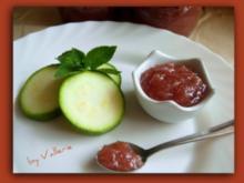 Zucchinikonfitüre - Rezept