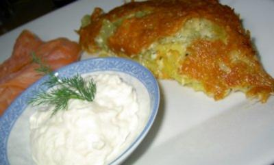 Rezept: Schmorgurken-Kartoffel-Gratin