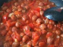 Tomatenpfanne mit Merguez - Rezept