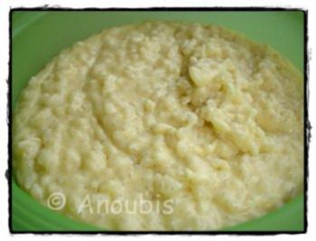 Hauptgericht süss - Vanille-Sahne- Milchreis - Rezept