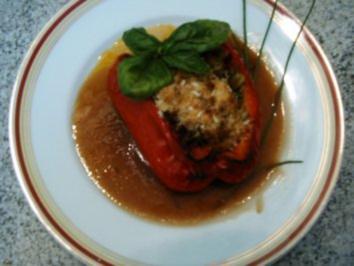Paprika mal ganz anders gefüllt - Rezept