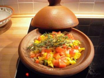 Sommergemüse aus der Tajine - Rezept