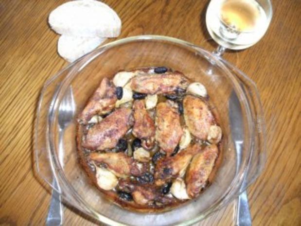Fleisch: Hähnchenflügel, mediteran - Rezept