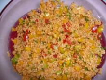 Herzhafter Salat mit Bulgur - Rezept