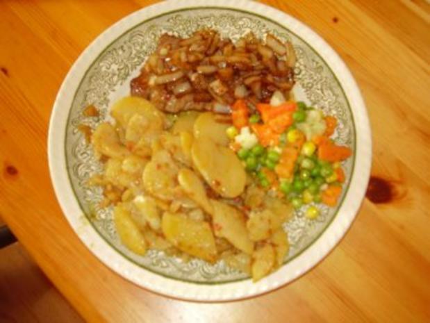 Rindersteak mit Schmorrzwiebeln - Rezept - Bild Nr. 2