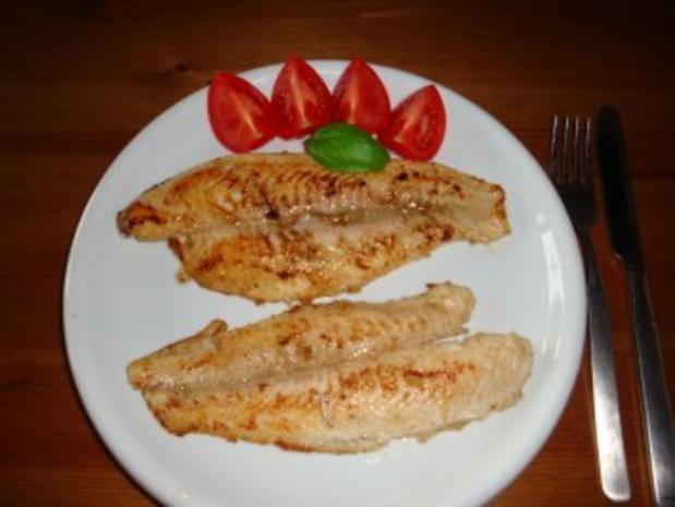 Pangasiusfilet mit Kartoffelsalat - Rezept - Bild Nr. 4
