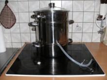 Getränk: Beeren und Kernobst-Saft bzw. Sirup selber herstellen - Rezept