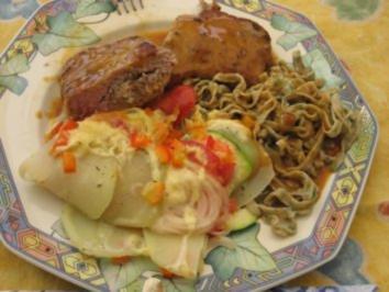 Fleisch- Liason von Kalb und Schaf - Rezept