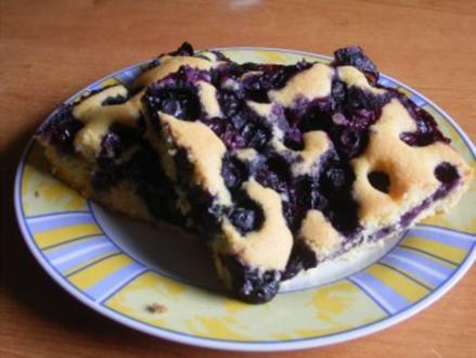 Mein Blaubeer-Kuchen - Rezept