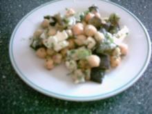 Kichererbsen - Auberginen - Salat - Rezept