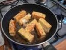 Schafskäse gebacken mit Tomatensalat - Rezept