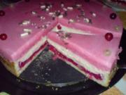 Johannisbeer-Pudding-Torte - Rezept