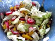 Fussels Gemischter Salat mit Feta-Käse - Rezept