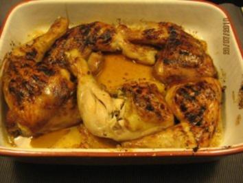 Marinade z.B. für Hähnchenkeulen - Rezept