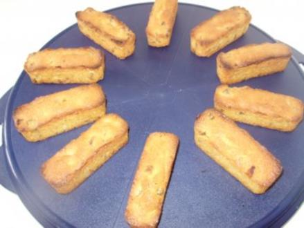 Mini - Küchlein mit getrockneten Aprikosen - Rezept