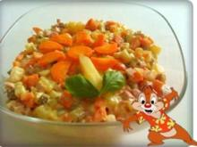 Salat: Kartoffelsalat mit Krakauer Würstchen - Rezept
