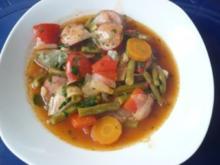Bohnen - Paprika - Eintopf - Rezept