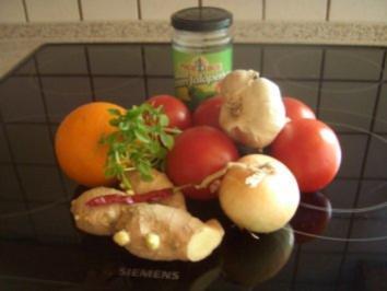 Tomatensauce teuflisch - exotisch - Rezept