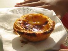 Portugiesische Puddingtörtchen (Pasteis de Nata) - Rezept