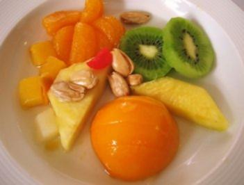 Rezept: Früchte-Teller ...