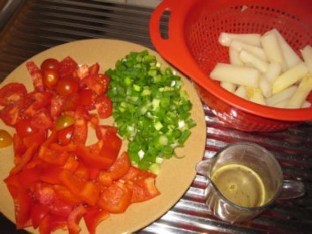 Frikadellen mal ganz anders...mit Spargel-Tomaten-Gemüse - Rezept - Bild Nr. 11