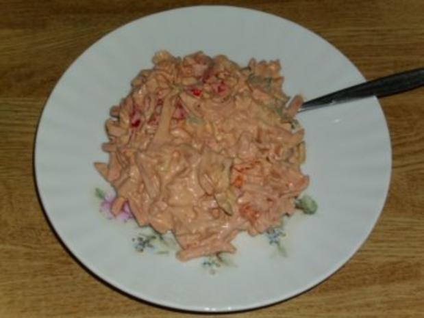 Pikanter Fleischsalat - Rezept