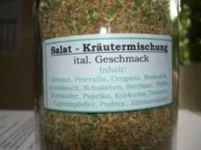 Diverses:   SALAT - KRÄUTER - MISCHUNG - Rezept