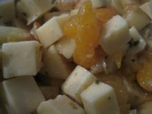Käse-Obst-Salat - Rezept