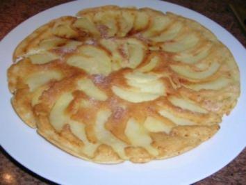 It`s pancake time -   Apple pancakes -  (simpel und schnell gemacht,kennt ja jeder) - Rezept