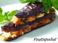 Lasagne von der Aubergine - Rezept
