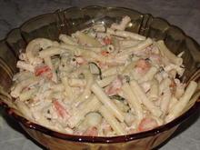 Nudelsalat  erfrischend-leicht und schnell zu zubereiten - Rezept - Bild Nr. 2