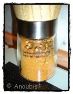 Gewürzmischung - Ras-el Hanout - Rezept
