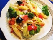 Gemüse-Gratin mit Nudeln und 3 Sorten Käse ... - Rezept