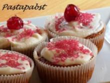 Kirsch-Zitronengras-Muffins - Rezept