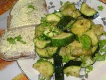 Zucchinigemüse - isst meine Tochter sehr gerne - Rezept