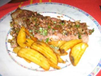 T-Bonesteak mit Backofenpotatoes - Rezept